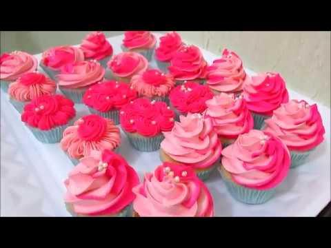 Cupcake (passo a passo), preparo, recheio e decoração!