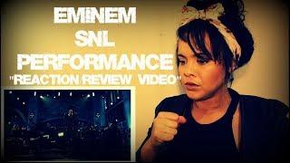 Eminem SNL Performance Reaction/Review