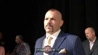 CHUCK LIDDELL GETS MAD AT REPORTER CALLING HIM TITO