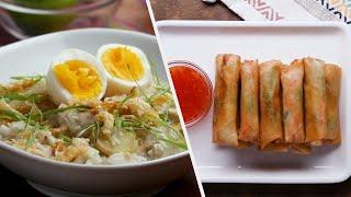 A Full Filipino Dinner  Tasty Recipes