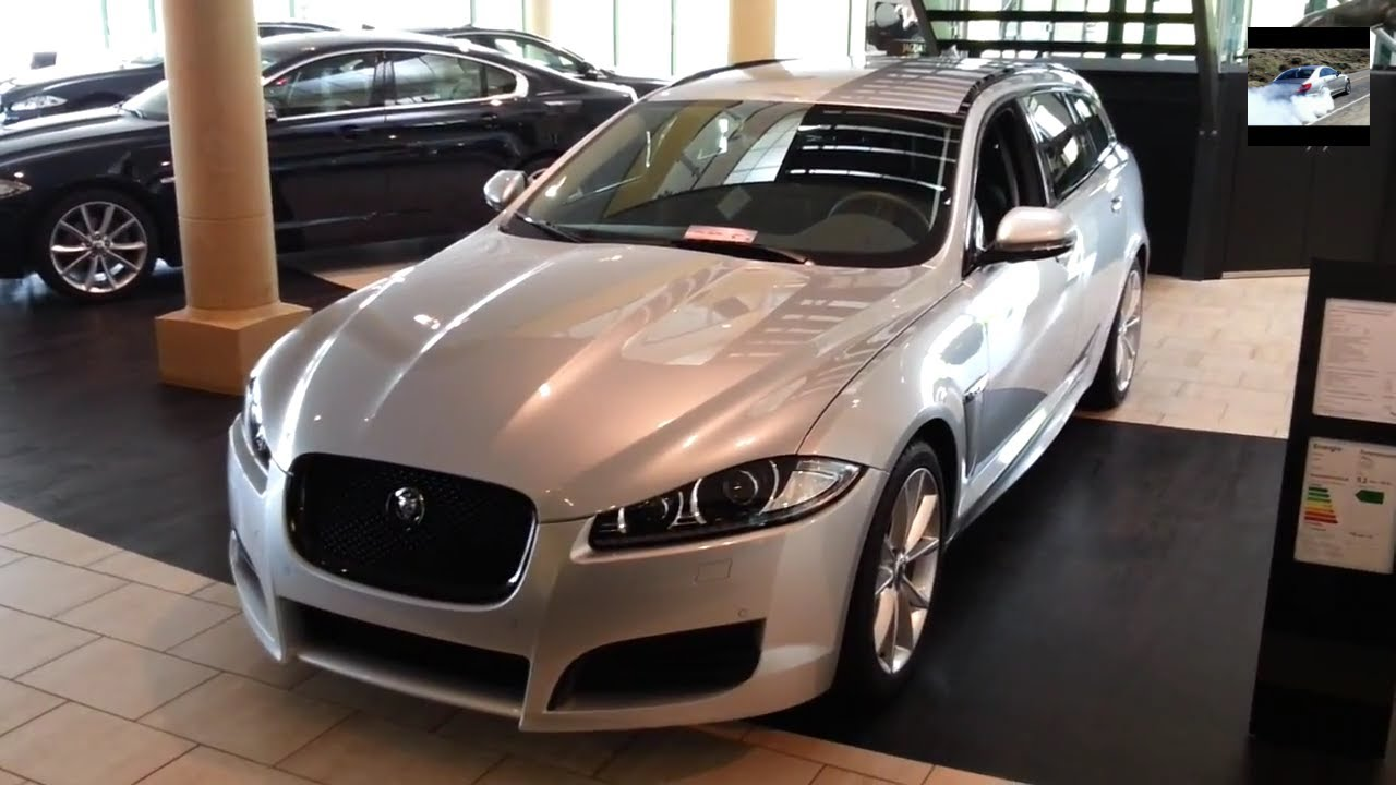 jaguar xf sportbrake 2013 in depth review interior youtube. Black Bedroom Furniture Sets. Home Design Ideas