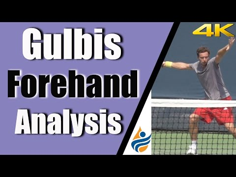 Gulbis Forehand Analysis | 4K