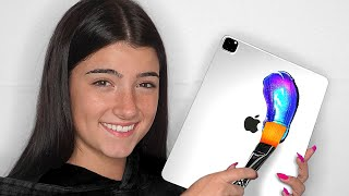 Surprising Charli D'Amelio With 10 Custom iPad Pros & Macbooks!!📱💻 ft. TikTok & LilHuddy (Giveaway)