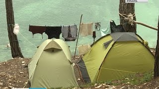 Палатка может составить конкуренцию отелю(Палатка может составить конкуренцию отелю. Тысячи отдыхающих в наши дни до сих пор предпочитают дикий отды..., 2015-07-06T10:43:12.000Z)