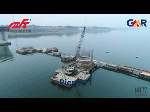 The making of DFC Yamuna Bridge at Allahabad