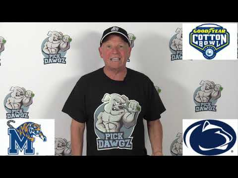 Penn State vs Memphis 12/28/19 Free College Football Pick and Prediction: Cotton Bowl