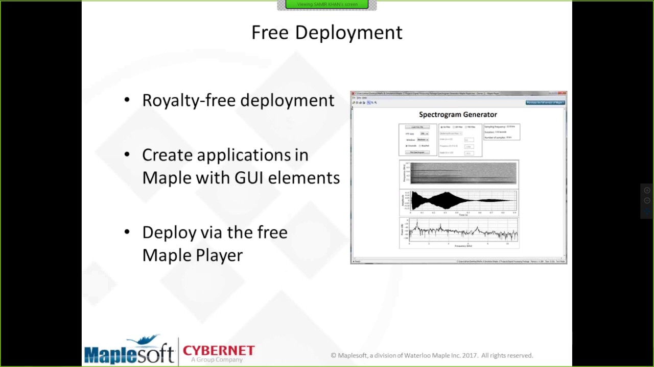 fa5ef2b48de Discover the Signal Processing Package in Maple. Maplesoft