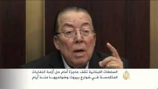 النفايات تملأ شوارع بيروت وضواحيها