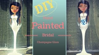 Cheeky Bridal Shower 3D Boob Wine Glass/Champagne Glass: DIY Tutorial