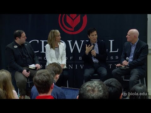 Business as Ministry Entrepreneurship Panel [Crowell Distinguished Speaker Series]