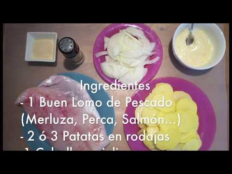 Pescado con mayonesa - Recetas de cocina fácil