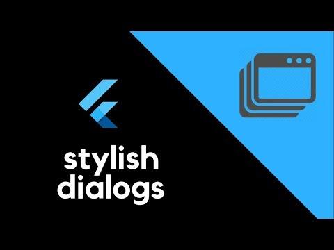 Flutter UI - Stylish Dialogs