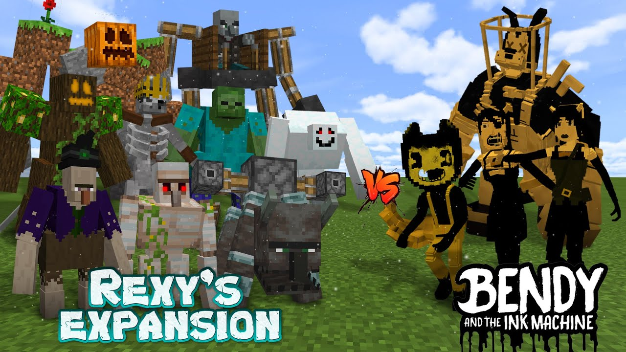 Rexy's Expansion vs Bendy and the Ink Machines! Part 2!