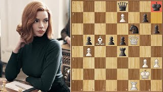 Bether Than The Original || Harmon vs Borgov - Final Game || Netflix's Queen's Gambit