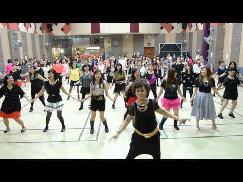 Sha Sha De Ai (傻傻的爱)—Line Dance Party & Teacher's Day Celebration 120915