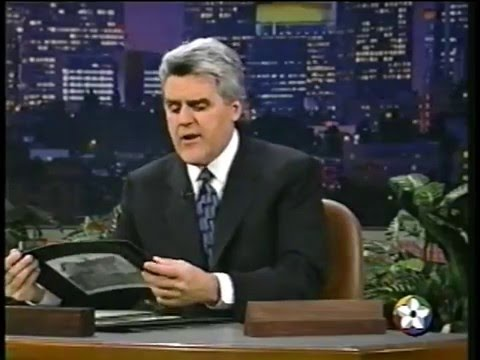 Jay Leno's Headlines - 1998 (Part 1 of 3)