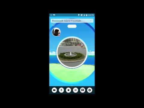 Hunting Rare Pokemon.  Live From Roosevelt Island in New York City