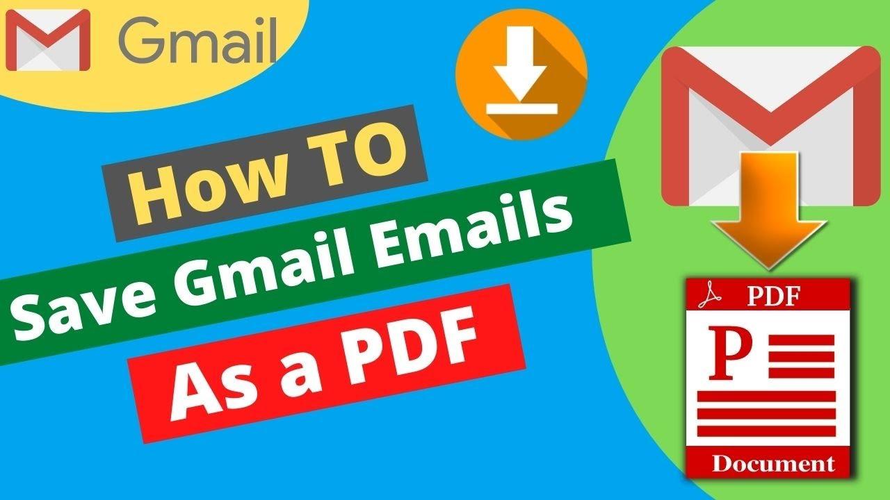 KATRINA: Save email as pdf gmail