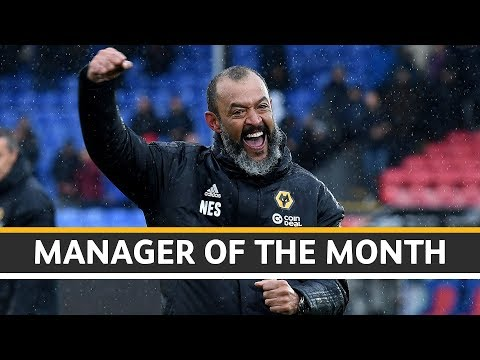 Nuno wins Premier League Manager of the Month