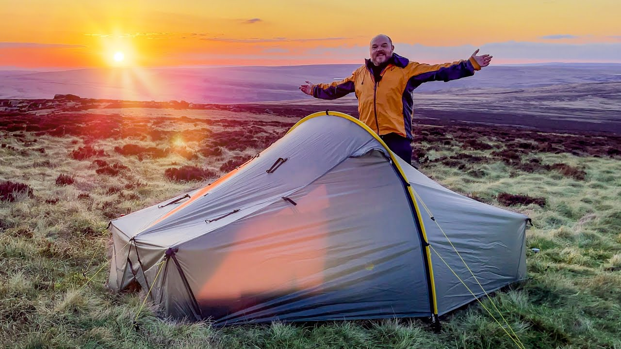 WILD CAMPING in my dream TENT