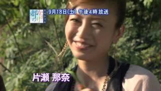 都のかほり 片瀬那奈 内山理名 CM 親友2人旅 奈良 鹿.