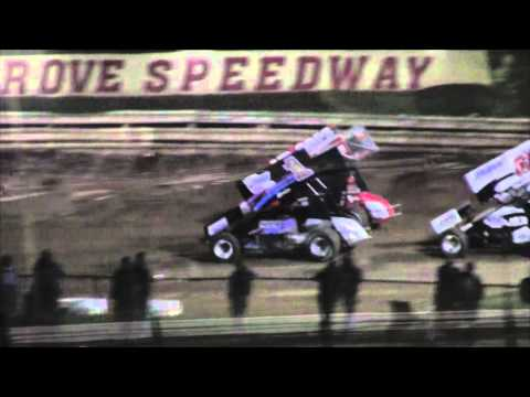 Williams Grove Speedway 410 and 358 Sprint Car Highlights 9-25-15