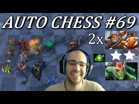 2x ☆☆ Techies + Refresher Medusa Late Game MADNESS | Dota Auto Chess Gameplay 69