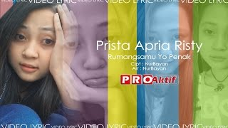 Video RUMANGSAMU YO PENAK - PRISTA [VIDEO LIRIK] download MP3, 3GP, MP4, WEBM, AVI, FLV Desember 2017