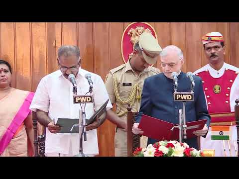 A.K Saseendran Takes oath as Transport Minister