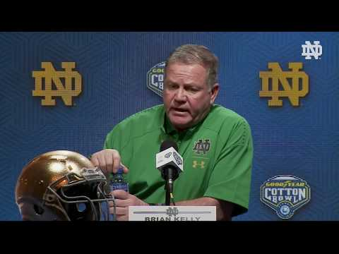 @NDFootball   Brian Kelly Post-Game Press Conference vs. Clemson (2018)
