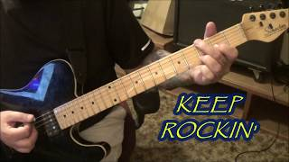 airbourne - running wild - cvt guitar lesson by mike gross