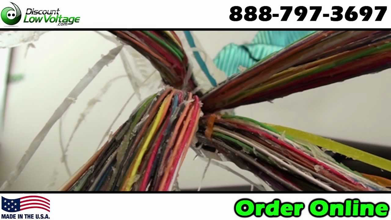 Direct Burial Telephone Wire   100 Pair Direct Burial Telephone Cable Discount Low Voltage Com