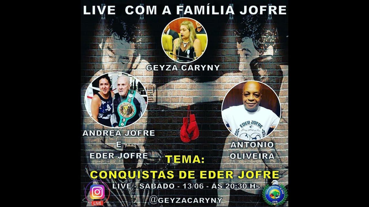 Live: Geyza Caryny e a Família Jofre