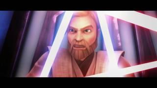 Star Wars The Clone Wars Hondo & Kenobi Vs Maul and Savage