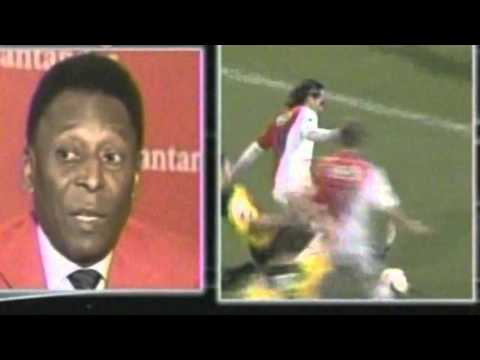 Pelé habla sobre lesión de Radamel Falcao