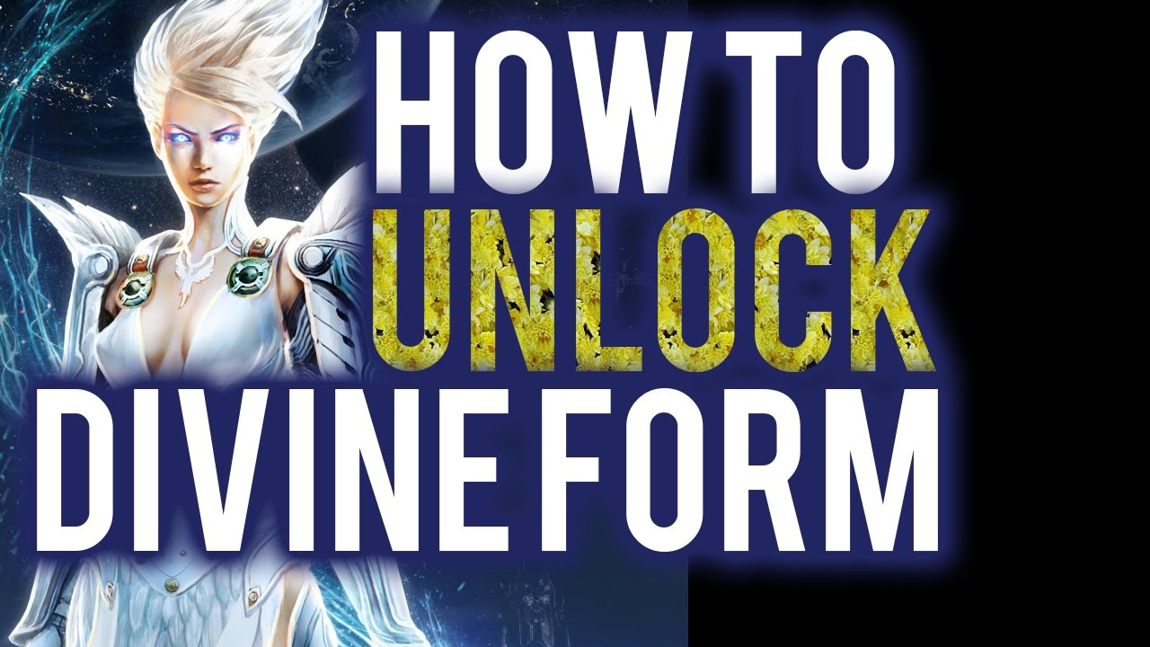 Skyforge How To Unlock Divine Form! PS4 - YouTube