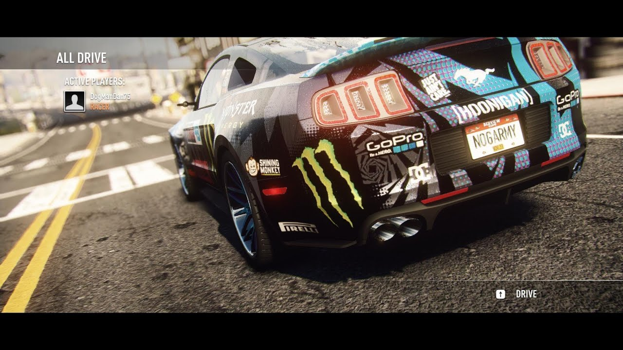 Need For Speed Rivals Gameplay The Ken Block Ford Mustang Gt Livery Youtube
