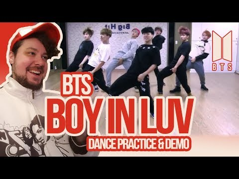 Mikey Reacts to BTS 'Boy In Luv' Dance Practice & Demo