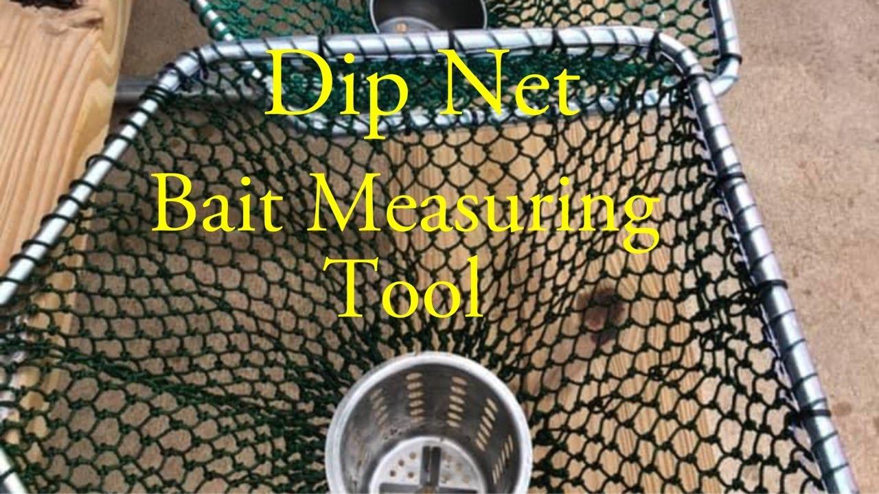 Dip Net, Bait Measuring Tool || #shorts