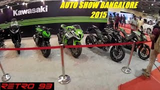 Super Bikes and Cars! Times Auto Show Bangalore 2015