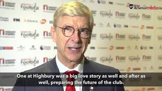 Arsene Wenger | 'Like every fan… I just want Arsenal to win' | Nordoff Robins