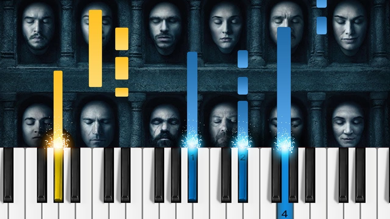 light of the seven piano
