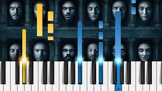 Light of the Seven - Game of Thrones - Piano Tutorial