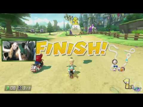 MLG Purrluna - Let's Play Mario Kart 8 Deluxe!