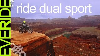 This is why we Adventure on DUAL SPORT MOTORCYCLES o#o