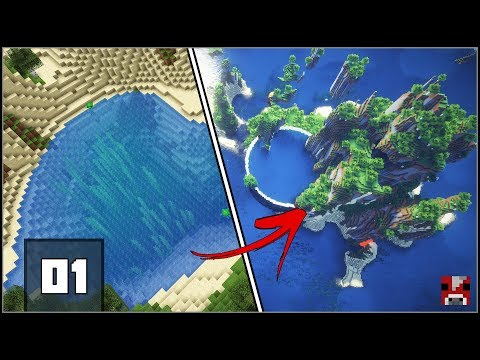 Minecraft Timelapse - ANTI Fishbowl Base! - Pt. 1 (WORLD DOWNLOAD)