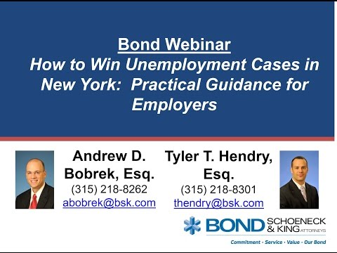 How to Win Unemployment Cases in New York - Practical Guidance for Employers