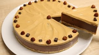 FLAN CHOCO CARAMEL FACILE  (CUISINERAPIDE)