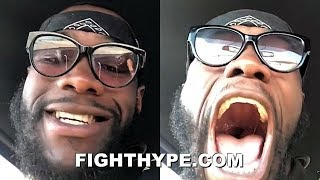 DEONTAY WILDER MAKES IT OFFICIAL; TYSON FURY FIGHT SIGNED FOR DEC. 1 PPV, PRESS TOUR STARTS OCT. 1