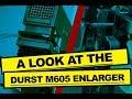DURST ENLARGER M605 - DARKROOM PHOTOGRAPHY VIDEO